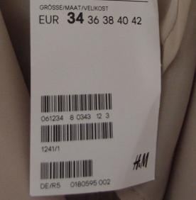 H&M Kundennummer