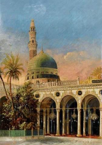Wo und wie heisst diese Moschee (Siehe Bild)?
