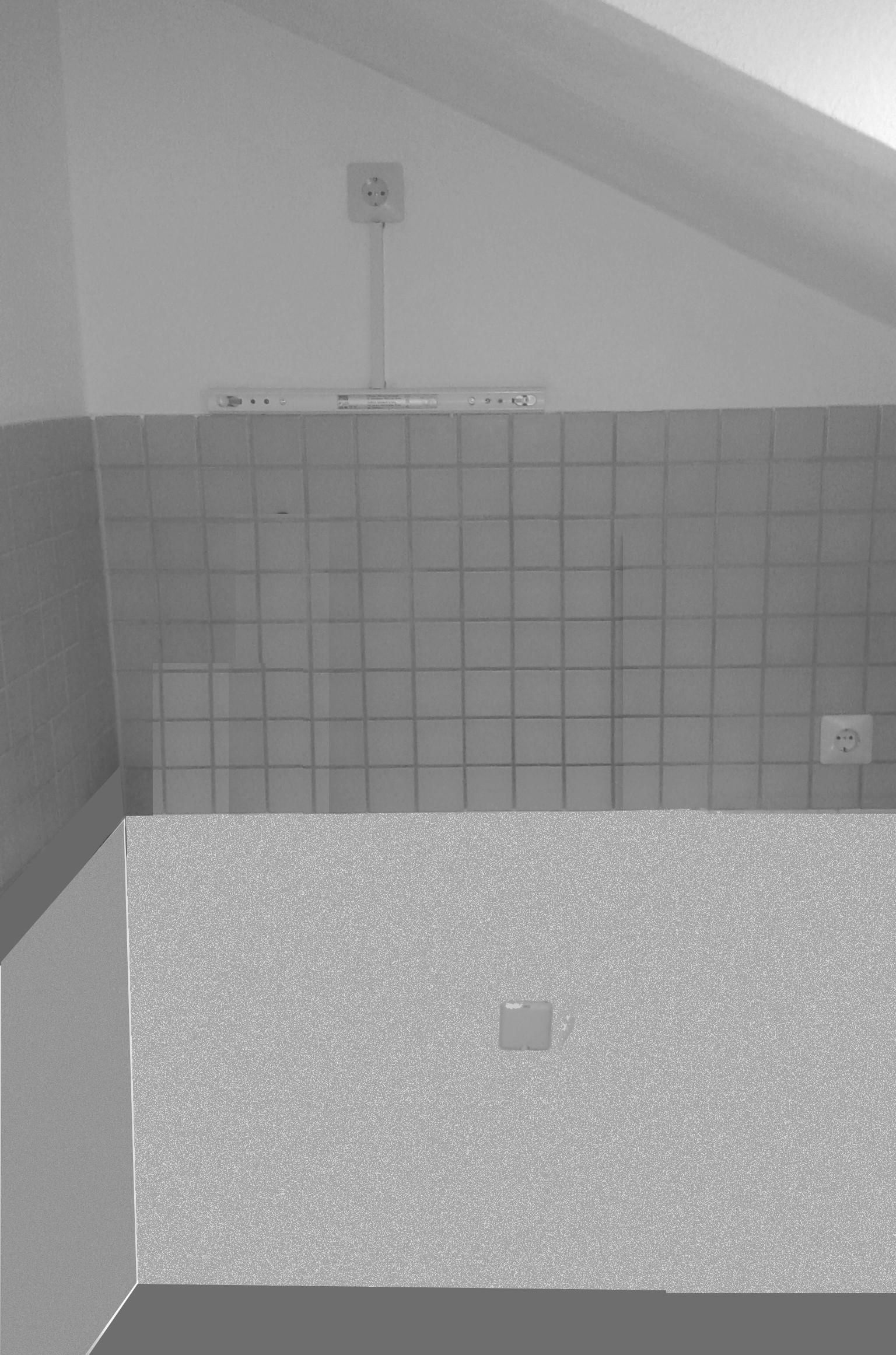wo verlegt ein elektriker die stromleitungen wenn es sich um eine giebelwand einer dachwohnung. Black Bedroom Furniture Sets. Home Design Ideas
