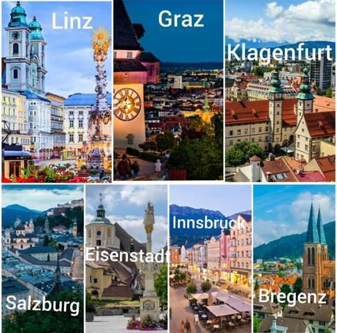 Wo würdest du am liebsten leben 🇦🇹?