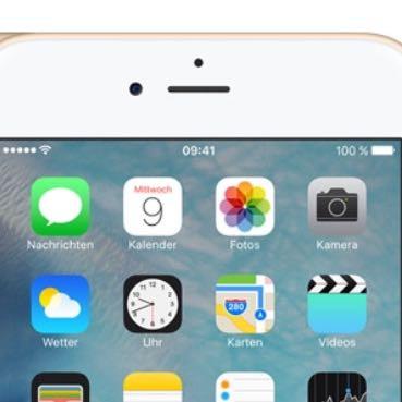 Hier ein Foto  - (Handy, iPhone, Apple)