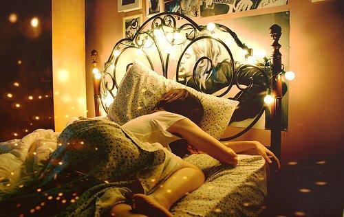 Bett 1 - (schlafen, Zimmer, Bett)