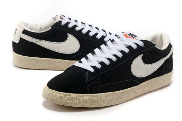 Nike Blazer Schwarz Low