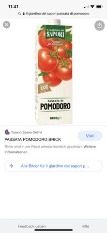 Woher bekomme ich diese passierten Tomaten?