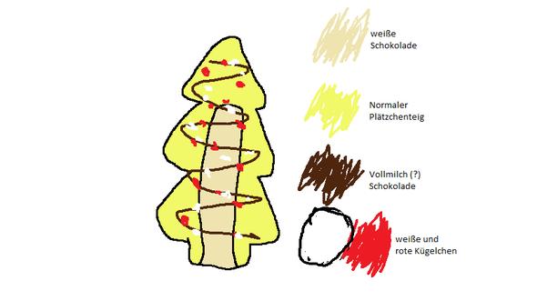 In Paint gezeichnet ^^ - (Weihnachten, backen)
