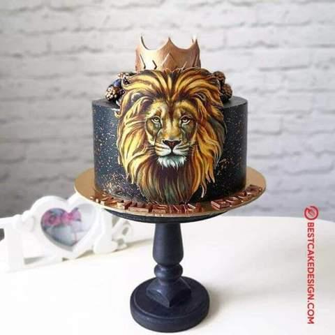 Woher bekomme ich diesen Löwen als Zuckerpapier?