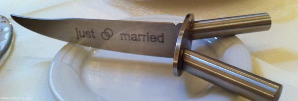 Hochzeitstortenmesser messer hat 2 griffe