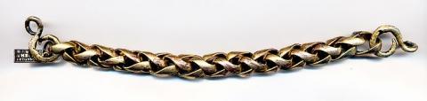 Zopfkette 10 mm - (Mode, Armband, zopfkette)