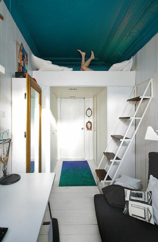 bett an der decke befestigen wohn design. Black Bedroom Furniture Sets. Home Design Ideas