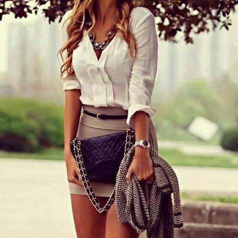 Woher Dieses Outfit Wo Finde Ich Diese Sachen Kleidung Rock Bluse