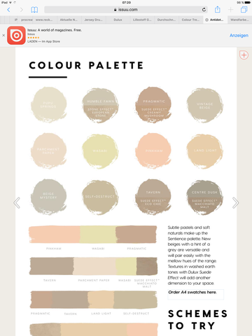 Woher Dulux Colour Trends 2017 Farben Beziehen Farbe