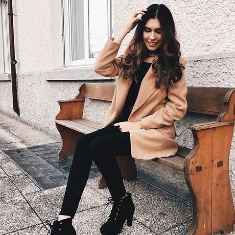 Mantel - (Mädchen, Kleidung, Klamotten)