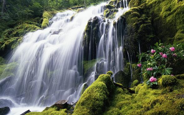 Windows Hintergrundbild Nr. 5 - (Wasser, fall, Wasserfall)