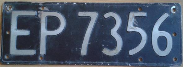 nummernschild - (Auto, KFZ, sammeln)