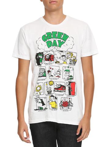 T-Shirt 'Dookie Songs' von Green Day - (Musik, Kleidung, T-Shirt)