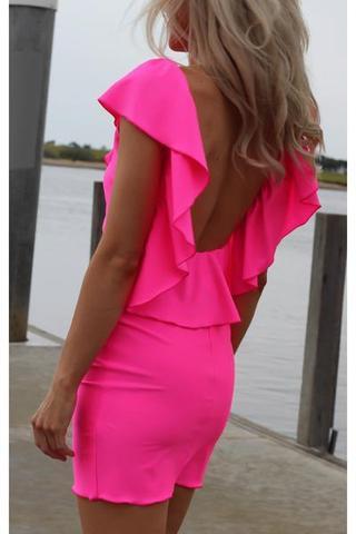 Kleider neon pink