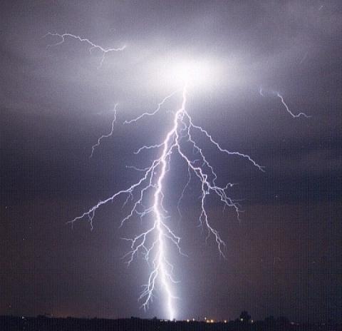 - (Physik, Natur, Blitz)