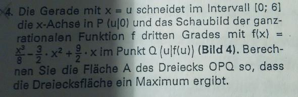 Aufgabe 4 - (Mathe, Funktion)