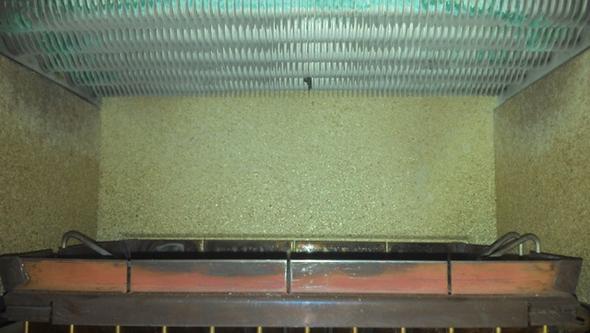 Brenner unten Tauscher oben - (Gastherme, Abgaswärmetauscher reinigen)