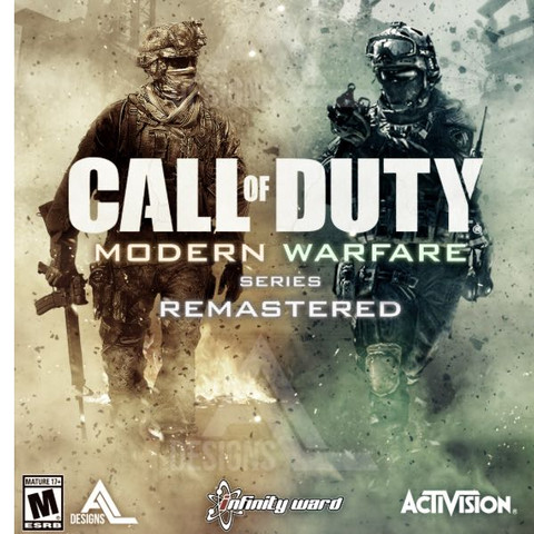 MW und MW2  - (Freizeit, Modern Warfare 2, remastert)