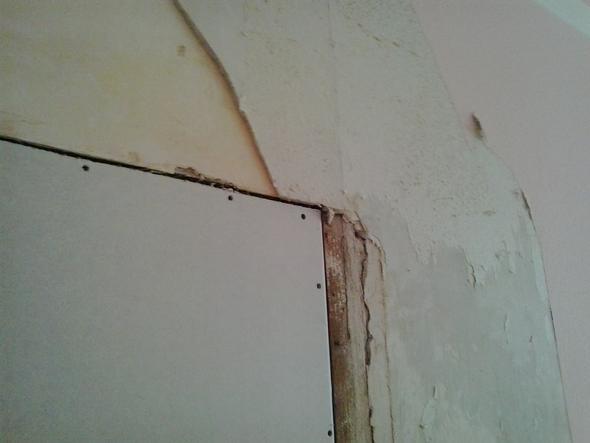 Wand - (renovierung, Putz)