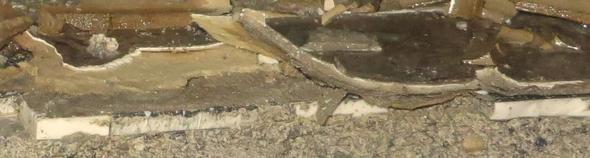 woran erkennt man asbest in pvc vynil pappe bodenbelag asbestpappe. Black Bedroom Furniture Sets. Home Design Ideas