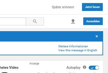 yt blau - (Musik, Youtube, darstellung)
