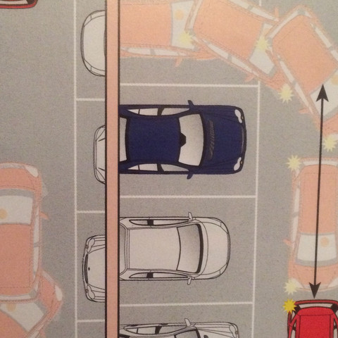 Auto einparken  - (Auto, fahren)