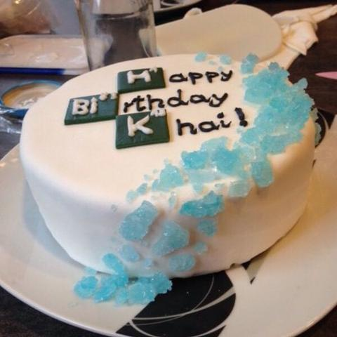Das blaue rechts  - (backen, Kuchen, Zutaten)