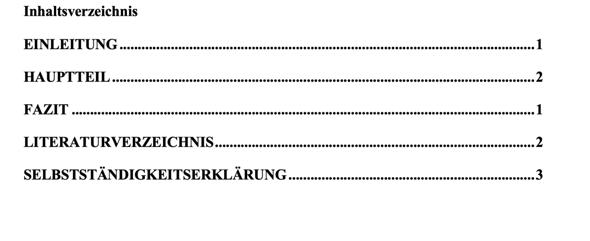 Word Inhaltsverzeichnis gibt falsche Seitenzahlen an?