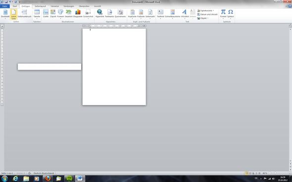 screen - (Seite, Word, Office)