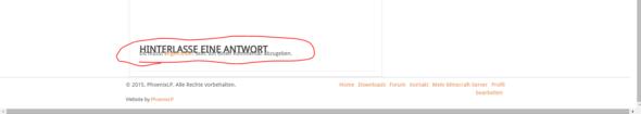 Den Text will ich ändern! - (Internet, Wordpress)