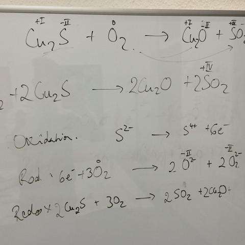 Formelgleichung  - (Chemie, Abitur, oxidation)