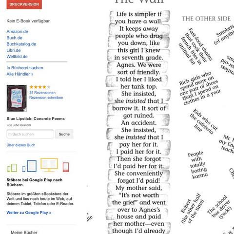 Worum Geht Es In Dem Gedicht Schule Englisch