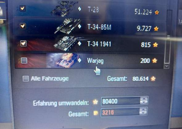 Wot unbekannter Panzer?