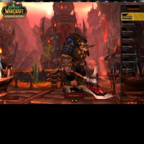 Wow Char Hintergrundbild Verändern Games Bilder Videospiele