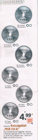 Sägeblätter - (Handwerker, sägeblatt, Kappsäge)