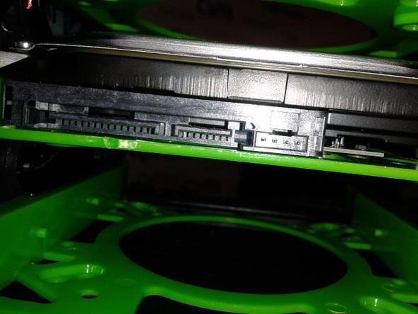 Festplatte Anschlüsse - (Computer, PC, Hardware)
