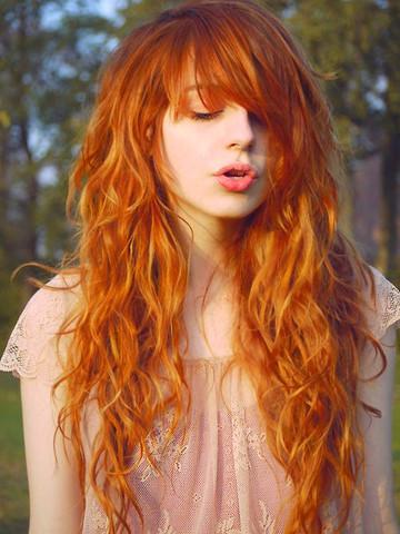 Bild - (Haarfarbe, rot, Blondierung)