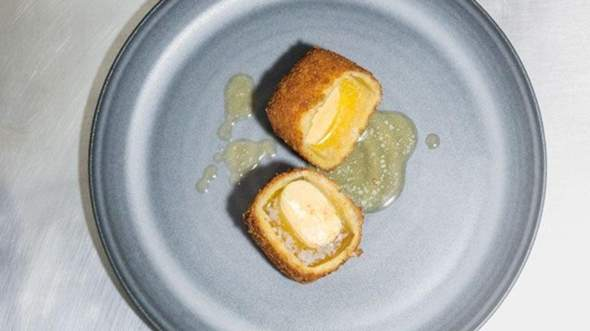 Würdest du frittierte Butter essen?