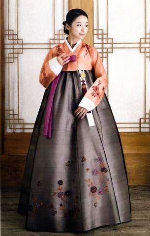 Traditionelles Kleid aus Korea - (Kleidung, Deutschland, Style)