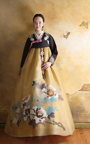 Traditionelles Kleid aus Korea 2 - (Kleidung, Deutschland, Style)