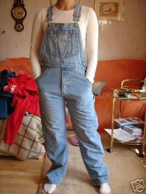 Würdet ihr die Jeans-Latzhose tragen? (Mode, 90er)