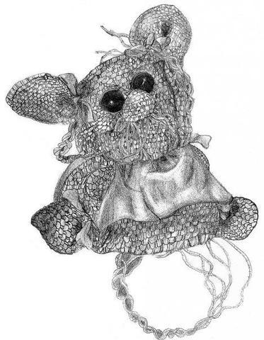 Gehäkelte Stoffmaus... - (Kunst, Hobby, Bewertung)