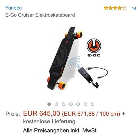 Das Longboard - (longboard, kickboard, e longboard)