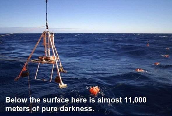 Würdet ihr für einen guten Zweck im Pazifischen Ozean am Marianengraben entlang schwimmen?