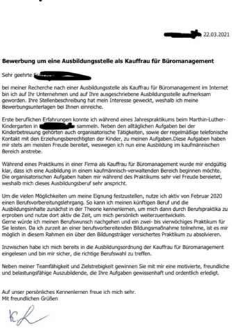 Schlusssatz in der Bewerbung: 10 gelungene Beispiele fürs Anschreiben - ibt-pep.de