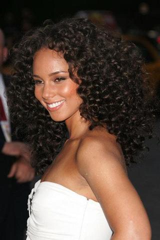 Kurze haare afro locken