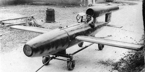 Wurde die bemannte V1 Rakete jemals eingesetzt?