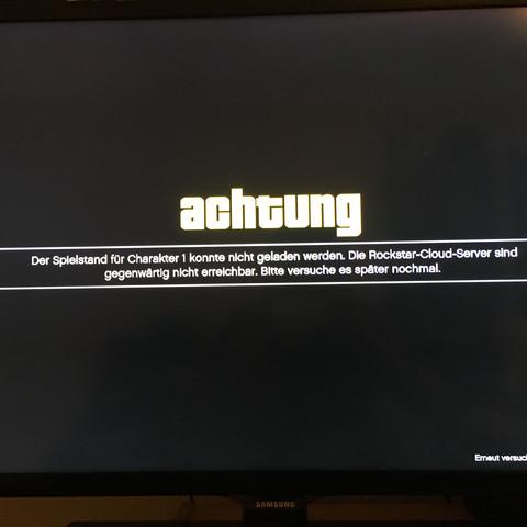 Fehlermeldung - (Spiele und Gaming, GTA online, gebannt)